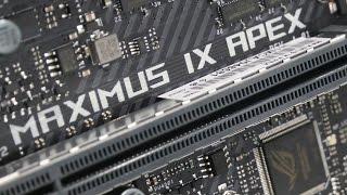 asus ROG Maximus IX Apex - Review