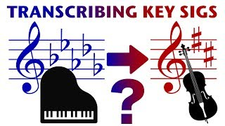 Orchestration Question 14: Transcribing Key Signatures