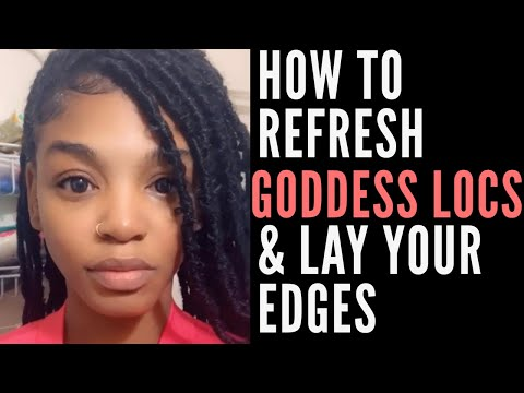 HOW TO REFRESH YOUR PROTECTIVE STYLES AND LAY THOSE EDGES