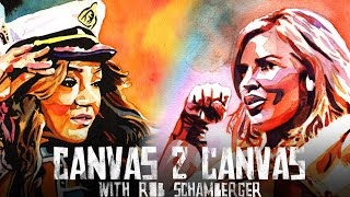 Alicia Fox, Dana Brooke, Mickie James & more rumble on the canvas! - WWE Canvas 2 Canvas