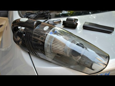 Zoook ZMT Hurricane Moto69 Portable Car Vacuum Cleaner UNBOXING/REVIEW