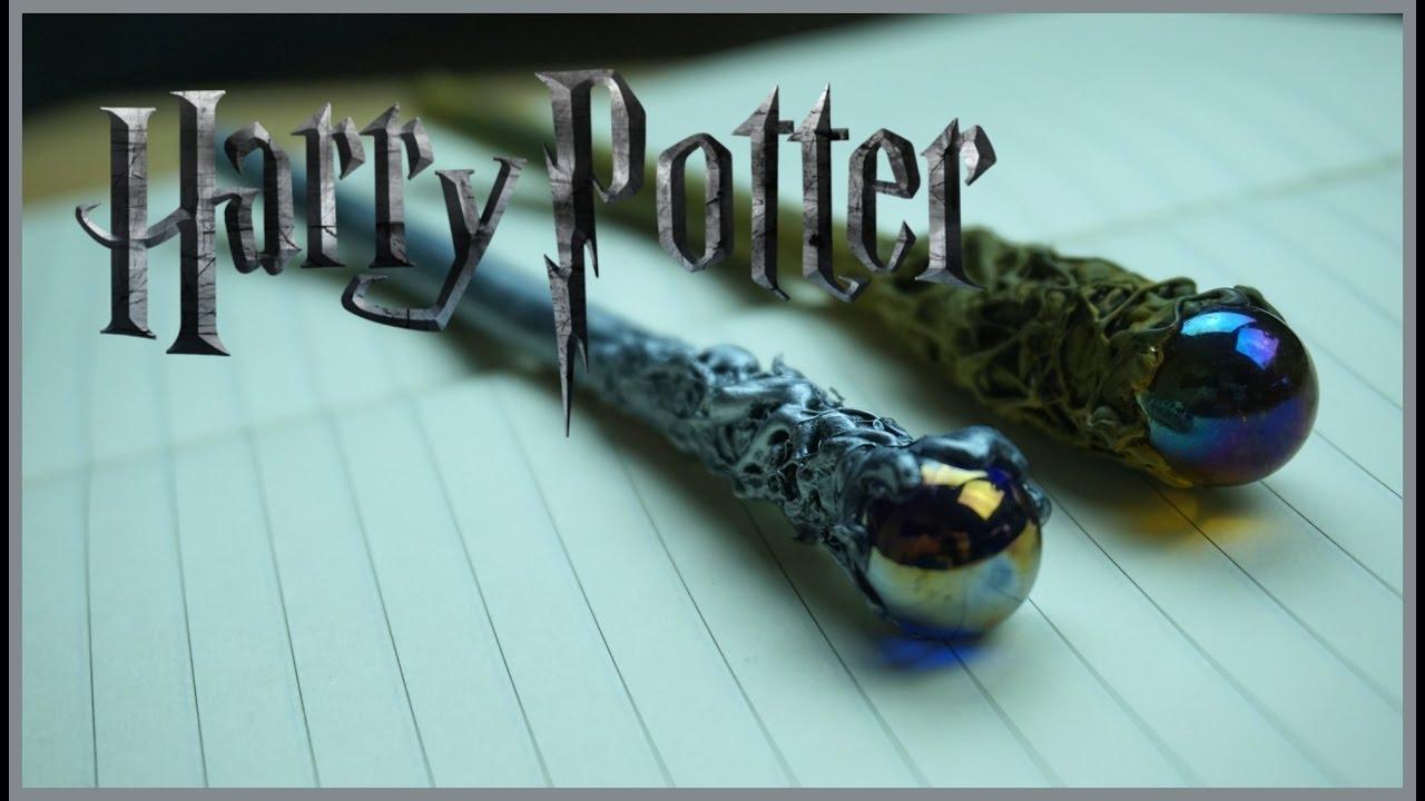 Como Hacer Varitas De Harry Potter En Lapiz Diy Youtube