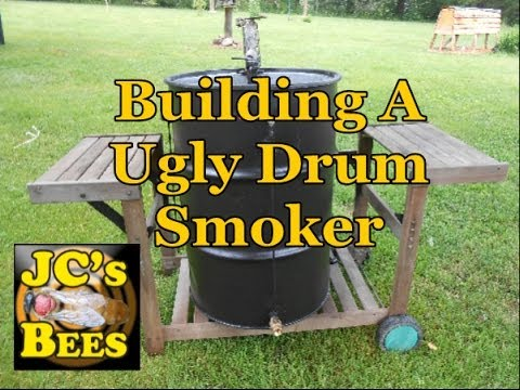 Building A Ugly Drum Smoker Youtube