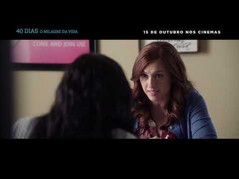 """""""40 Dias - O Milagre da Vida""""  I Trailer Dublado"""