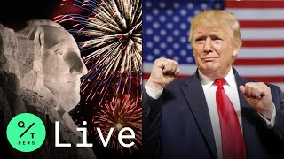 Live: Trump Hosts Mask-optional 2020 Mount Rushmore Independence Day Fireworks In South Dakota