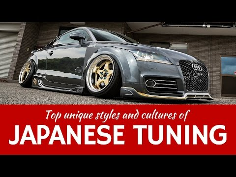 Japanese car TUNING cultures - luxury VIP style, rebellious Bosozoku & unusual Onikyan