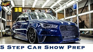 HOW TO prep your car at a CAR SHOW