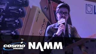 Boss DS-1X Distortion and OD-1X Overdrive Pedals - Cosmo Music at NAMM 2014