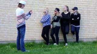 Musikvideo Flytta på dej - alina devecerski, Prolympia Gävle