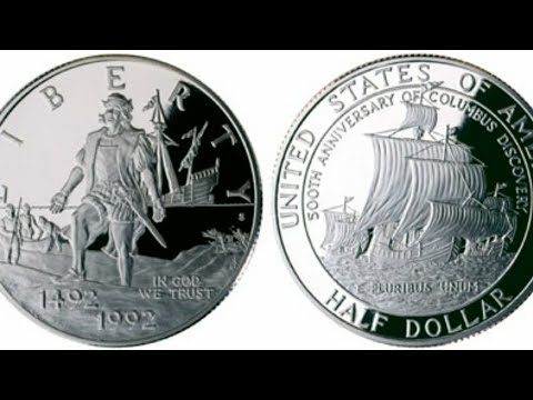 1992 Columbus Half Dollar.