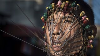 Extreme Piercing At Thailand's Vegetarian Festival - Amazing Places