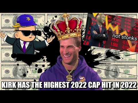 Kirk Cousins Has the LARGEST Cap Hit in the NFL in 2022. 😱💰🤯 Here's What Can Be Done