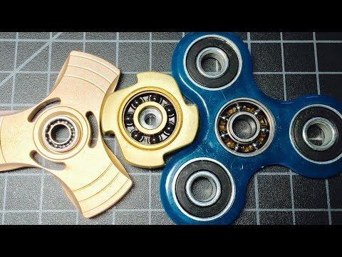 Fidget spinner bearings compared: Ceramic vs Steel vs Hybrid Ceramic