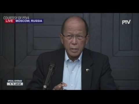Defense Secretary Lorenzana on the Marawi clash