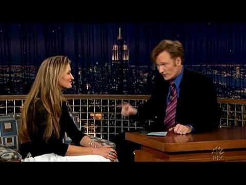 Conan O'Brien 'Natascha McElhone 42605