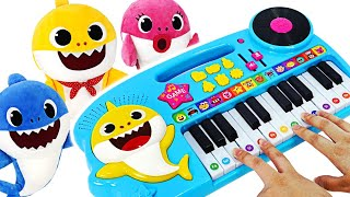 Join the Music contest on Shark#39s Family Piano with Baby Shark amp Pinkfong! PinkyPopTOY