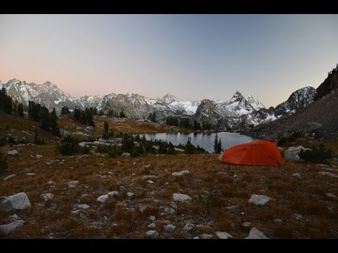 Backpacking Grand Teton National Park: 8 Day Off Trail Trip, including Cirque and Ortenburger Lakes.