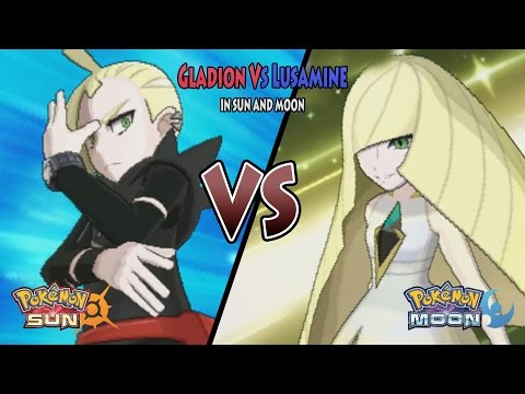 Pokemon Sun and Moon: Rival Gladion Vs Lusamine (Pokemon Lusamine, Aether Foundation)