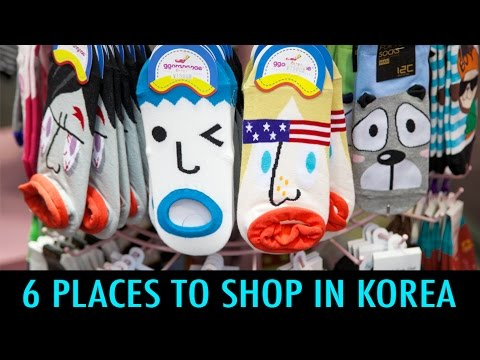 6 Places to Shop in Korea (KWOW #157)