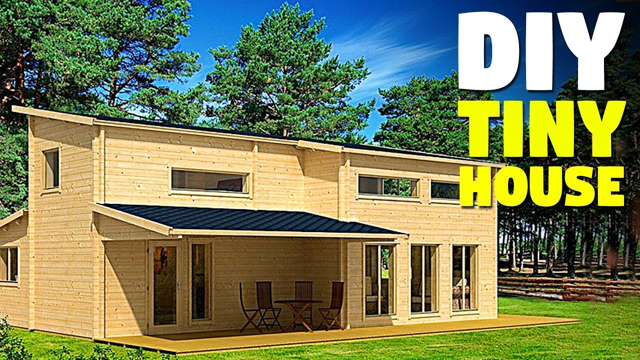 Build Your Own 2 Story Tiny House Whit This Diy Cabin Kit