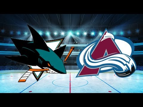 San Jose Sharks vs Colorado Avalanche (1-3) – Feb. 6, 2018 | Game Highlights | NHL 2018