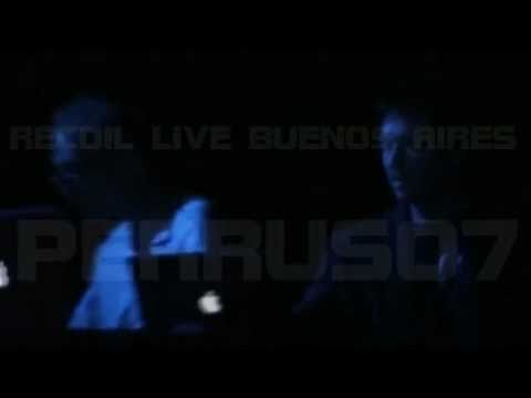 Recoil (Alan Wilder) Live Buenos Aires - Show Completo Online
