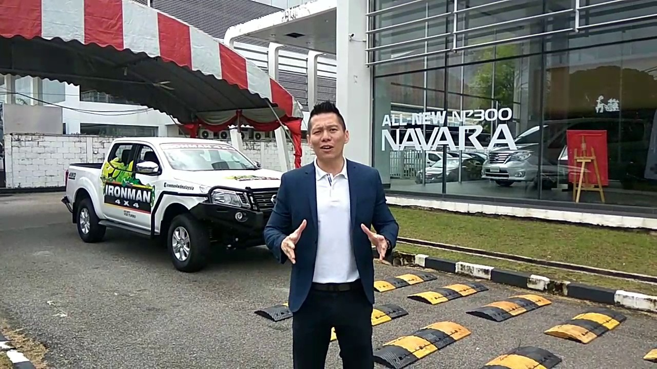 Nissan Navara X Trail 4wd Obstacle Test Drive Car Review By Adrian Yeoh