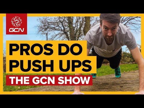When Cyclists Do Press Ups... | The GCN Show Ep. 318