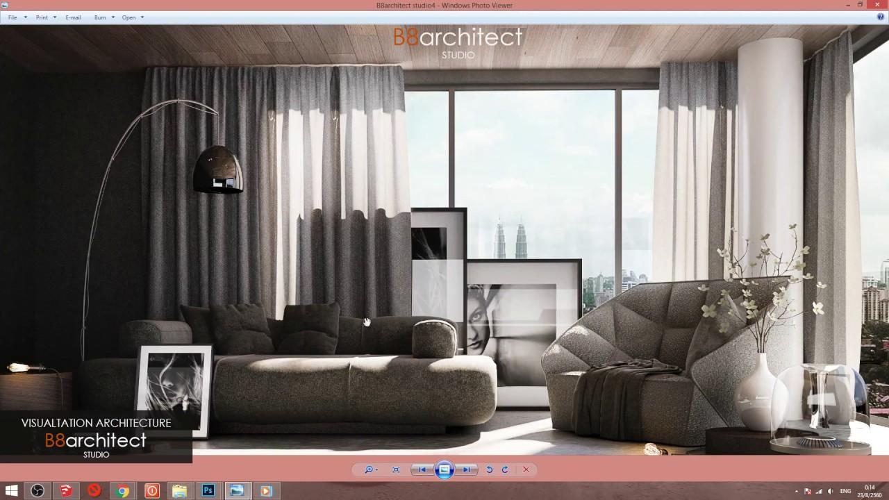Interior Post Production Photoshop Architecture Interior Layout Architecture Concept Architecture