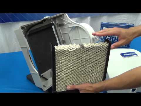 GeneralAire® Elite 570, 900 and Legacy 1099LHS Humidifier - How to change the vapor pad