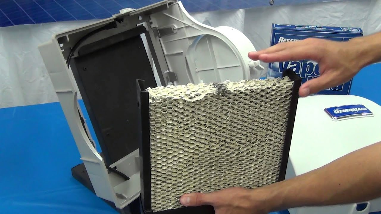 570 900 1099lhs model humidifiers how to change the vapor pad video library general filters inc  [ 1280 x 720 Pixel ]