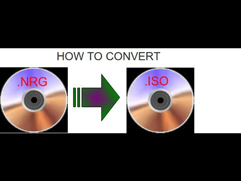How to convert .NRG file to ISO for FREE