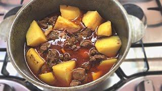 Мясо с Картошкой Самый Вкусный Самый Простой Рецепт Мясо в Казане
