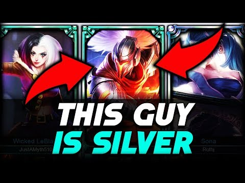Do They Deserve it? Placing a SILVER Yasuo in a Platinum Game - League of Legends thumbnail