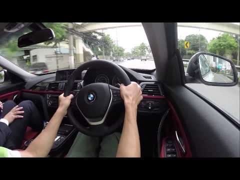 BMW 320d GT Sport test-driving in Bangkok