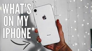 Whats On My iPhone XR 2019 | Essential Apps
