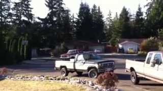 ford f250 he351ve 7 3l idi drive by whistle