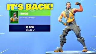 *RAREST* TRACKER SKIN IS BACK! Fortnite ITEM SHOP [February 24, 2019] | Fortnite Battle Royale
