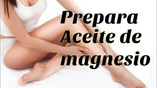 De la para pomada artritis magnesio