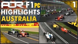 F1 2016 | AOR PC Split 1: S13 Round 1 - Australian GP (Official Highlights)