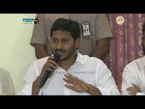 YS Jagan Full Press meet on Governor Speech & Cash for Vote Scam - 6th Mar 2017