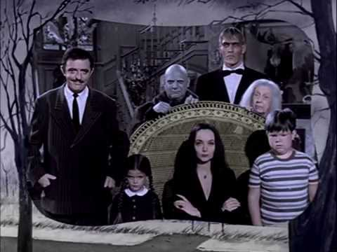 The Addams Family 1964 TV Show Opening COLORIZED fanmade