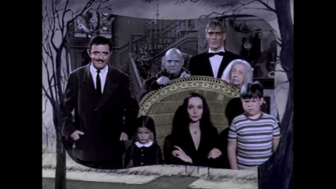 The Addams Family (1964) TV Show Opening. COLORIZED ...
