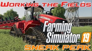 Farming Simulator 19 | SNEAK PEAK part 2 | IN GAME VIDEO | Buying a Field and getting to work