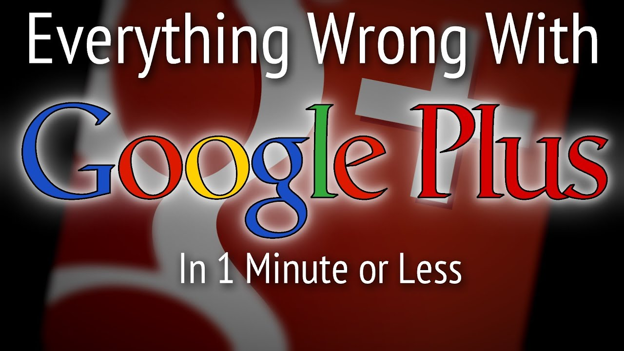 (Parody) Everything Wrong With Google+ Youtube Update in 1 Minute or Less - This is just a silly last-minute video I thought I'd throw together. The style of the video is a parody of Cinema Sins; be sure to check them out!