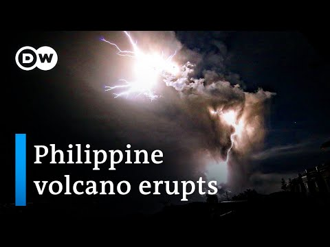Philippine volcano eruption: