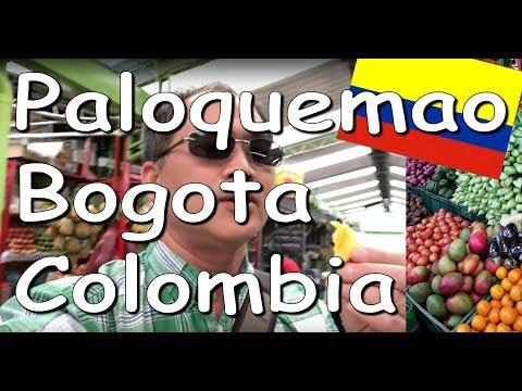 Ep 7/10 Colombia Trip Vlog 2018 | Paloquemao Market Tour
