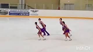 Финал Кубка России по синхронному катанию Сызрань