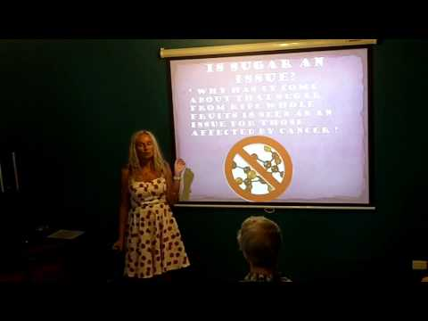"""FRUIT & CANCER"" Anne Osborne's talk for 'Raw Food & Healthy Living' Group"