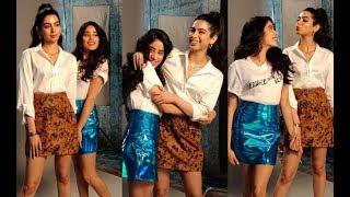 Janhvi Kapoor and sister Khushi Kapoor looks beautiful together at BFF with Vogue Season 3